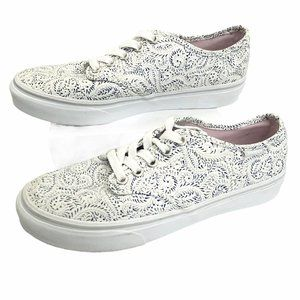 Vans Camden Paisley Lace-up Off The Wall Sneakers
